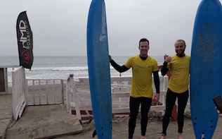 Surfing and Wine Private Tour from Santiago