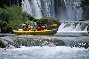 Full-day Zrmanja Canoe Safari in Kastel Zegarski