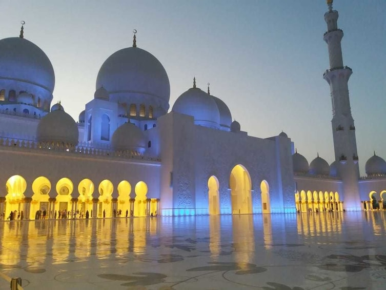 Show item 1 of 5. Abu Dhabi tour from Dubai with Zayed Grand Mosque Full Day