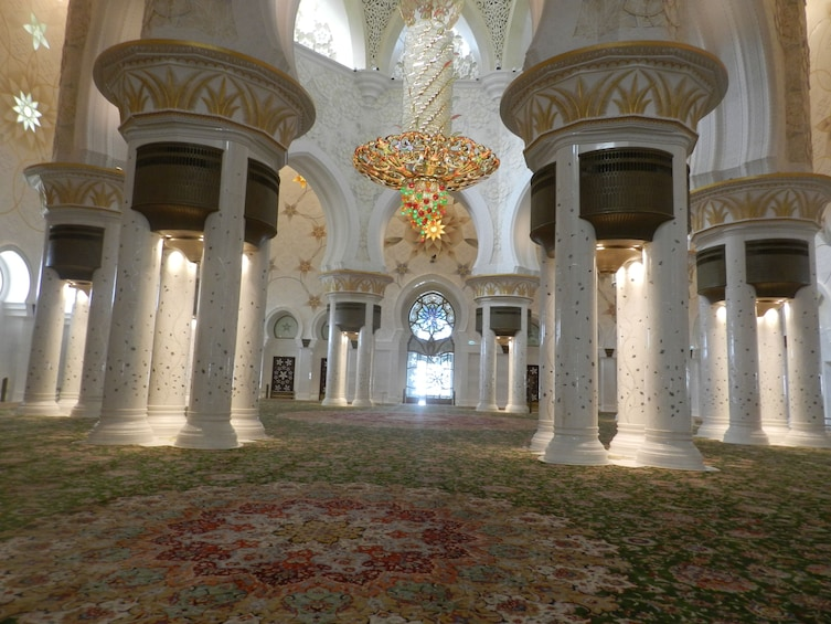 Show item 2 of 5. Abu Dhabi tour from Dubai with Zayed Grand Mosque Full Day