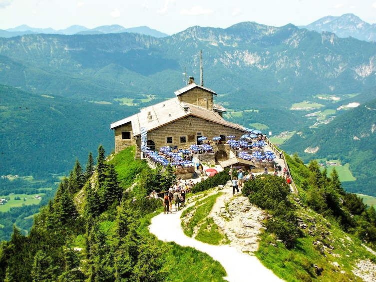 Show item 1 of 4. Berchtesgaden Town and Moutains and the Eagle's Nest