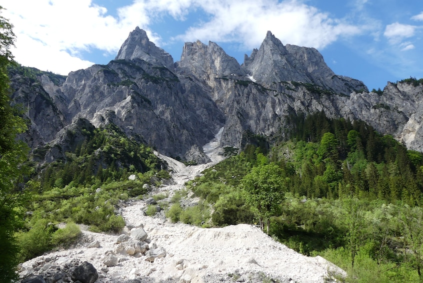 Show item 4 of 4. Berchtesgaden Town and Moutains and the Eagle's Nest