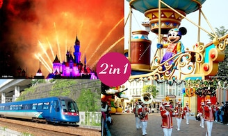 E-Ticket Combo: Hong Kong Disneyland® and Airport Express
