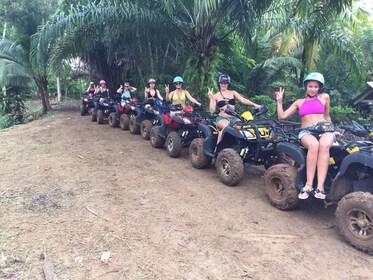 Whitewater Rafting & ATV Adventure Tour from Phuket