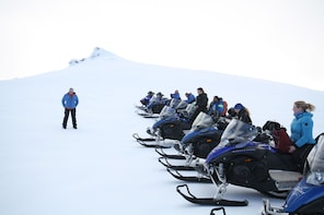 Snowmobile Tour on Europe's largest glacier, Vatnajokull