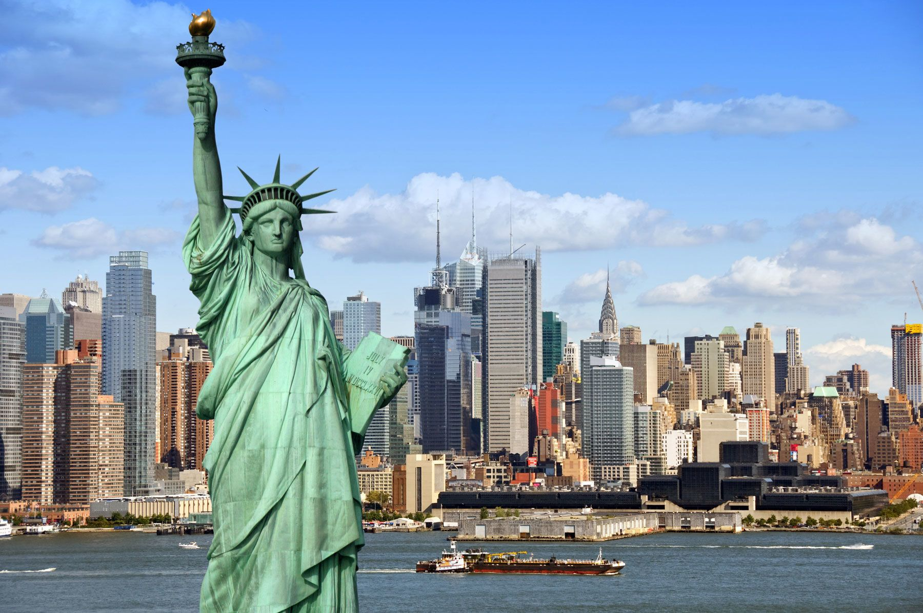 See 30 New York Sights (Walking Tour) & Statue Of Liberty