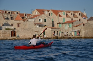Sea Kayaking Adventure in Sibenik Area