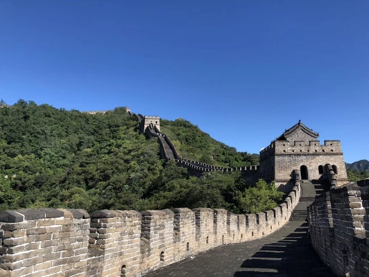 Show item 5 of 5. Mutianyu Great Wall share tour with cable car and lunch