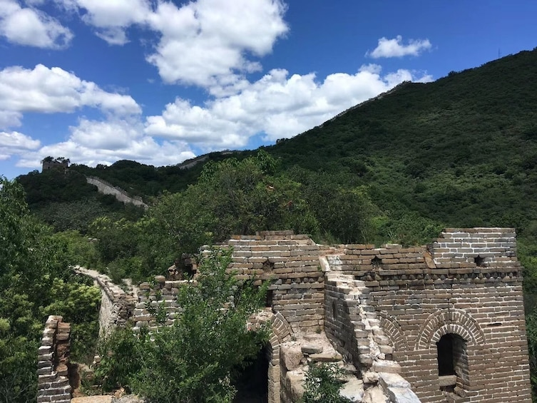Show item 3 of 5. Mutianyu Great Wall share tour with cable car and lunch