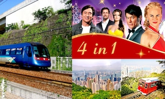 E-ticket Combo: Peak Tram, Madam Tussauds, Airport Express