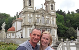 Half-Day Walking Tour in Braga & Transfer to Bom Jesus