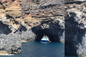 Northwest Coast Boat Trip in La Palma