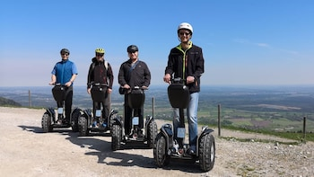 Segway Alm Tour in the district of Rosenheim - Bad Feilnbach