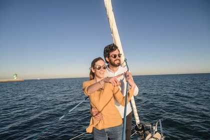 Sailing from Barcelona to the Vineyards & Wine Tasting