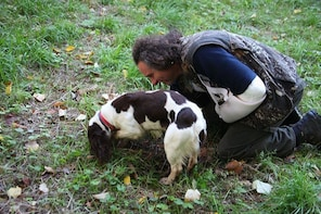 Truffle Hunting with Culinary Experience & Zeus Cave Chauffe