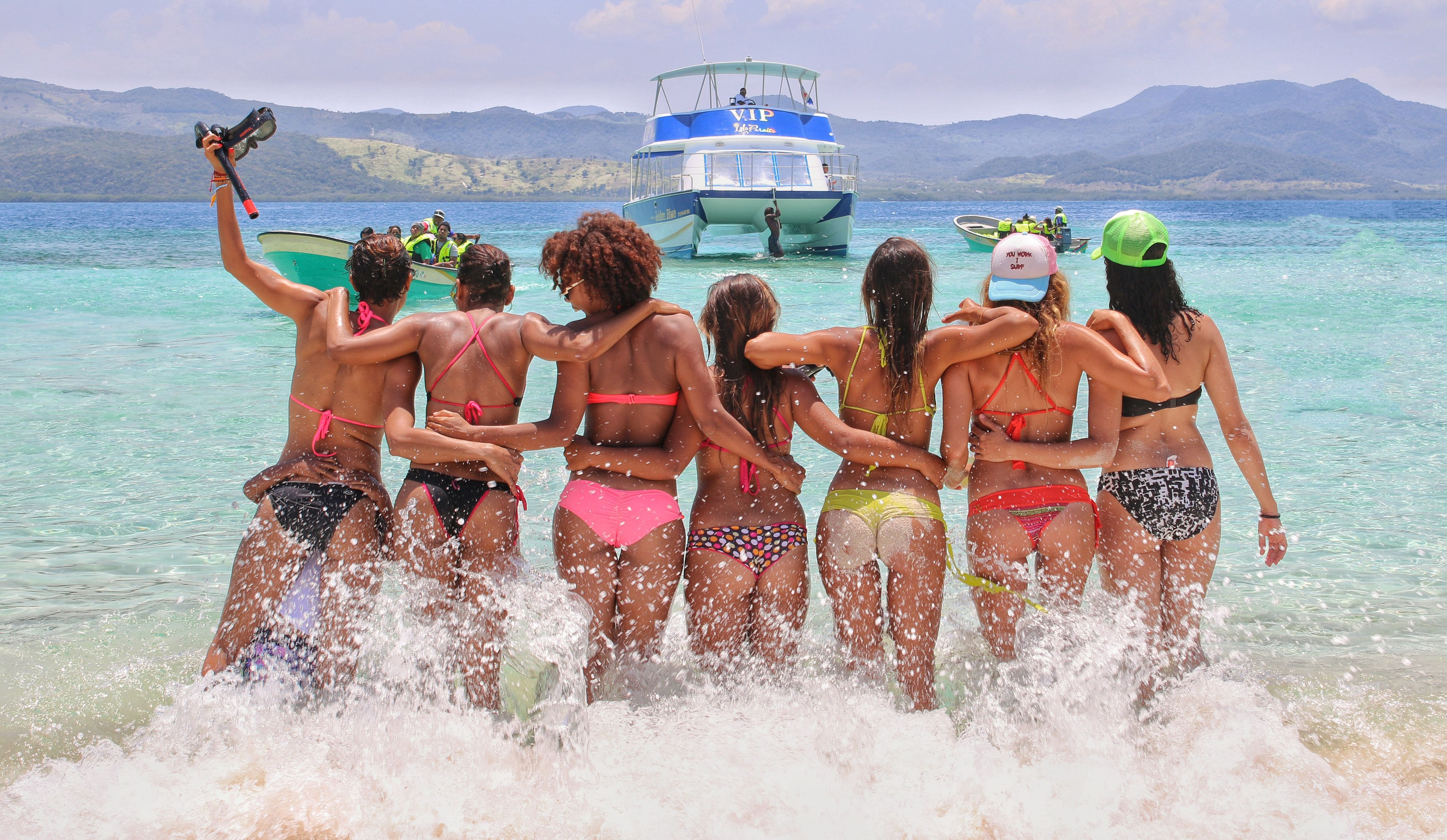 Cayo Arena VIP Experience from Puerto Plata