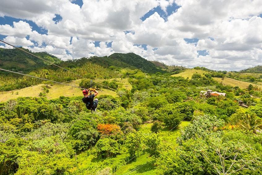 Show item 5 of 10. Adventure Bundle: Monkeyland, Ziplines & Buggies Punta Cana