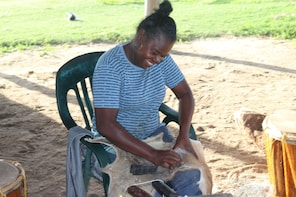 Garifuna Drum Making