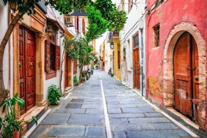 Themed West Crete & Evening Rethymno Chauffeur Private Tour