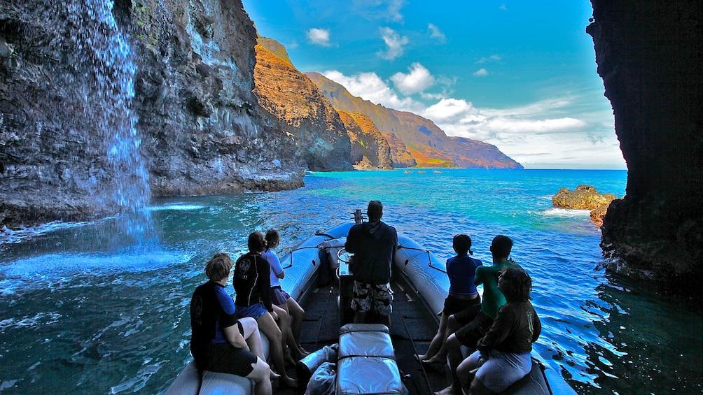 Show item 3 of 8. 4-Hour Na Pali Coast Raft & Snorkel Adventure