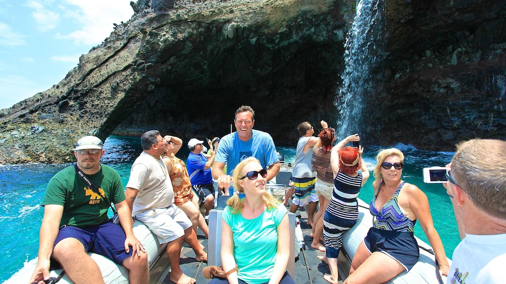 Show item 5 of 8. 4-Hour Na Pali Coast Raft & Snorkel Adventure