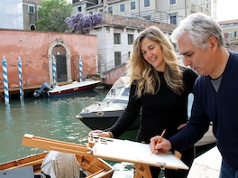 Watercolours in Venice: Painting Class with Famous Artist