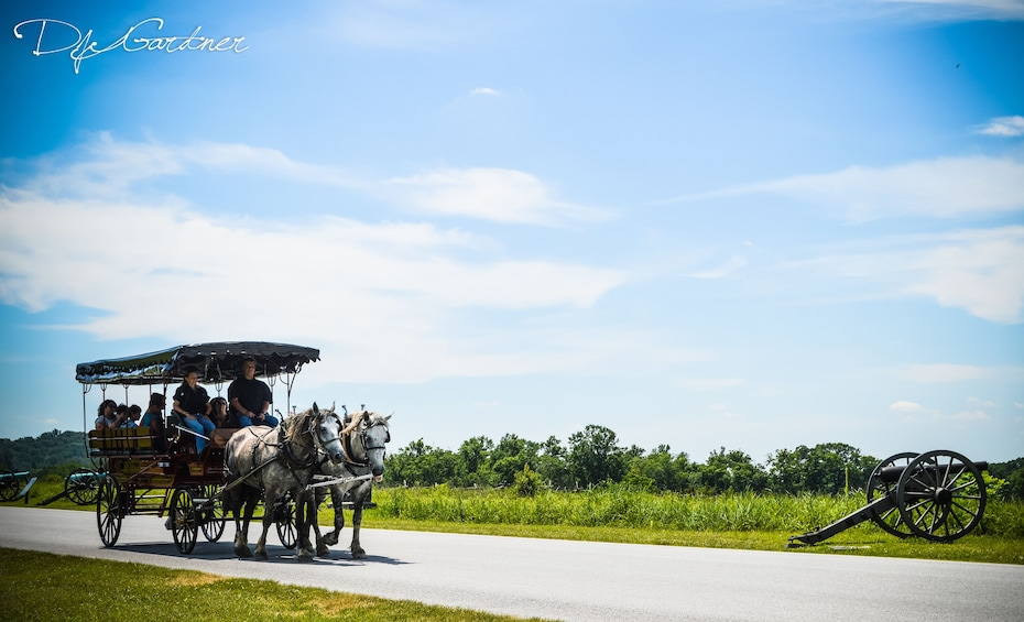 Show item 5 of 5. 2 Hour Gettysburg Battlefield Licensed Guided Carriage Tour