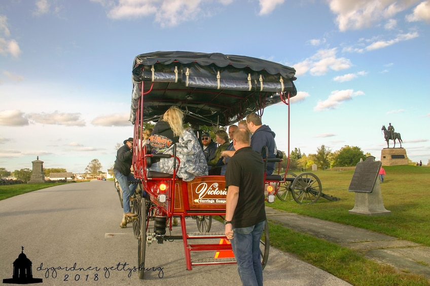 Show item 1 of 5. 2 Hour Gettysburg Battlefield Licensed Guided Carriage Tour