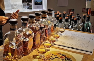 Private Full Day Whisky Tasting with views and monuments