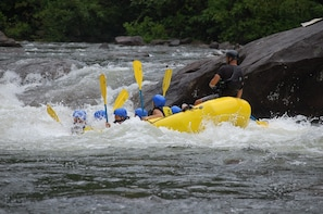 Adventure Sports & Thrilling White-water Rafting