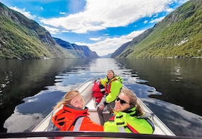 Private Bergen RIB Fjord Safari by Zodiac Speedboat