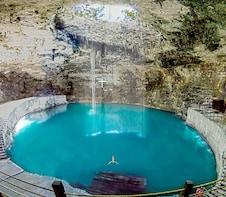 Cenote Hubiku with Tequila Museum
