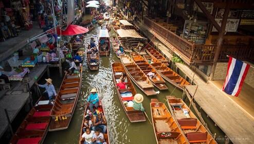 BANGKOK: DAMNERN SADUAK FLOATING MARKET, HALF DAY TOUR