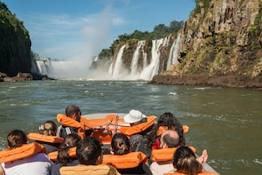Brazilian Falls + Boat Tour Macuco Safari - Tickets Incl.