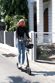 Ride and Explore Bangkok City with E-scooter