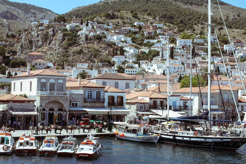 Show item 3 of 7. Day cruise to Hydra , Aegina and Poros