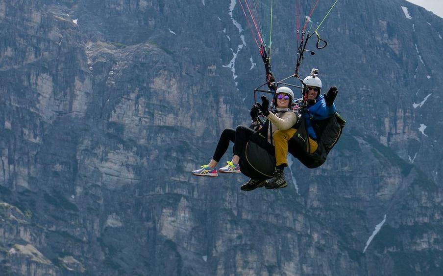 Show item 4 of 5. Tandem Paragliding Tirol