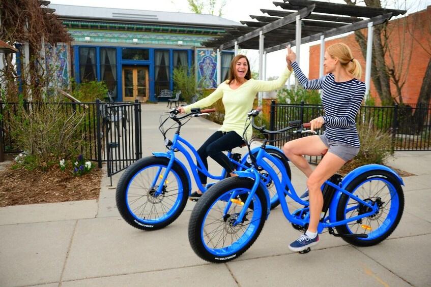 Show item 9 of 9. Electric Cruiser Bike Tour - Best of Boulder