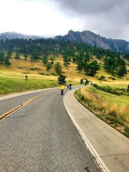 Show item 3 of 9. Electric Cruiser Bike Tour - Best of Boulder