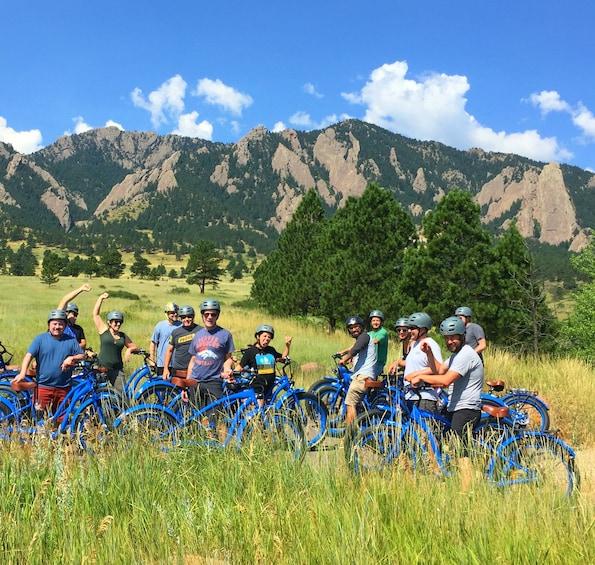 Show item 1 of 9. Electric Cruiser Bike Tour - Best of Boulder