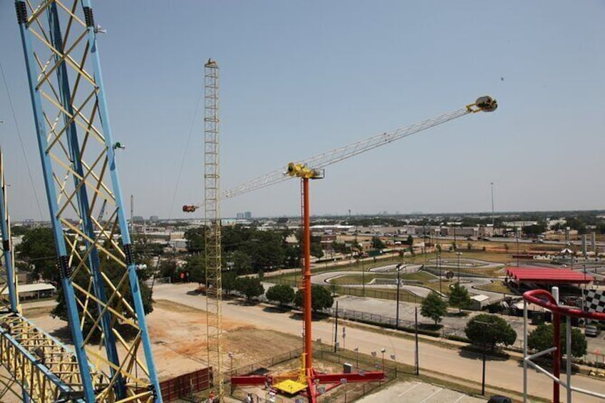 Show item 10 of 10. Zero Gravity Thrill Amusement Park in Dallas
