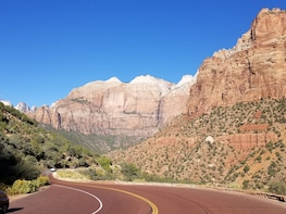 Zion National Park and Sunset at Valley of Fire VIP Tour