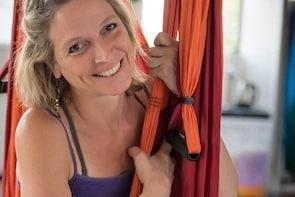 Yoga Trapeze class
