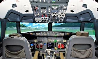 Be the captain of a Boeing 737NG. Welcome aboard