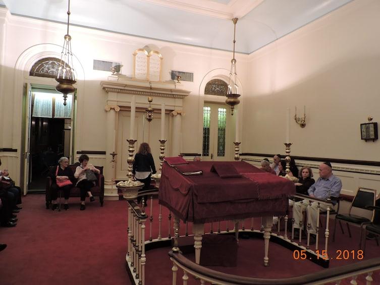 Congregation Shearith Israel - A Sunday afternoon tour