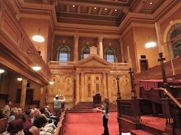 A Tour of Congregation Shearith Israel - The Oldest in USA