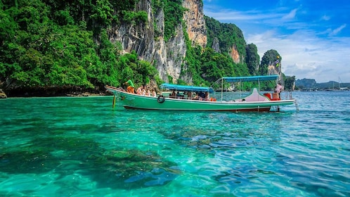 Phi Phi Island Half Day Tour From Phi Phi by Longtail Boat