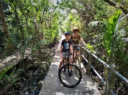 Family Bicycle Tour in the Green Jungle of Bangkok