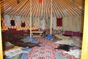 Eco Trip Accommodating you in a Barrel or Khan's Yurt