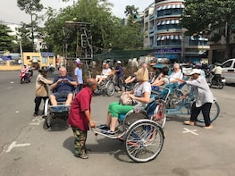 Saigon highlights from Cruise (private Pick up at Phu My)